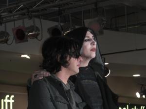 Marilyn Manson and Twiggy Ramerez